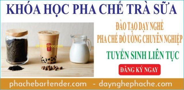 Khóa học pha chế trà sữa mở quán kinh doanh 02